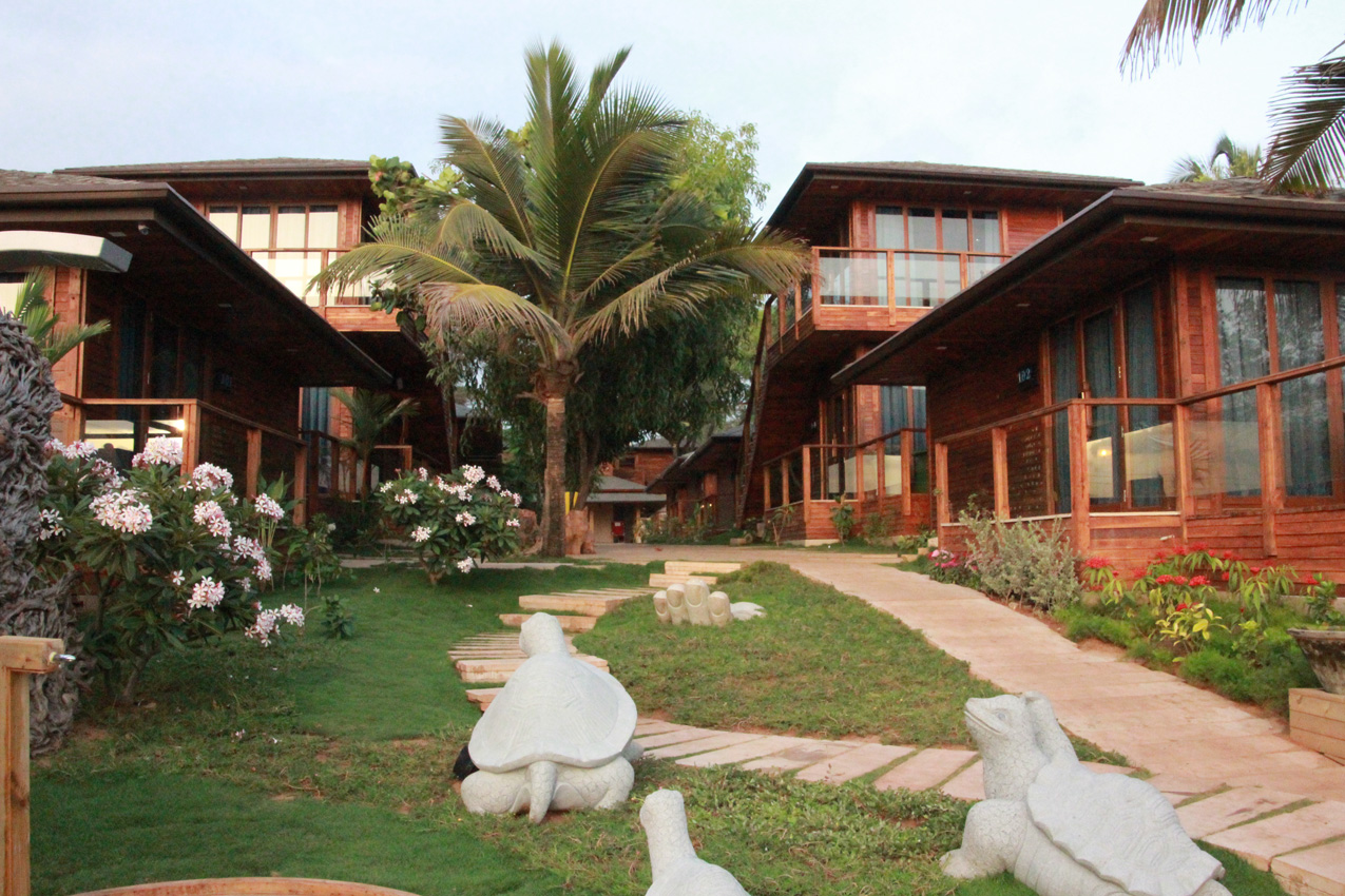 Luxury Cottages In North Goa The Baga Beach Resort Cottages